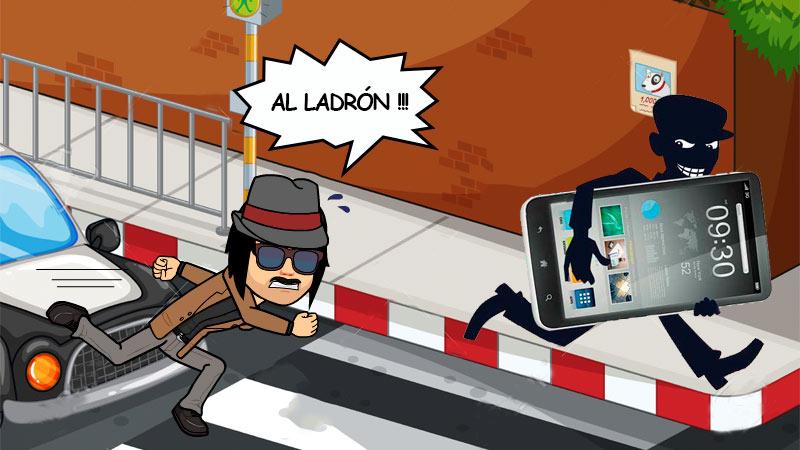 ladrón teléfono móvil bloquear