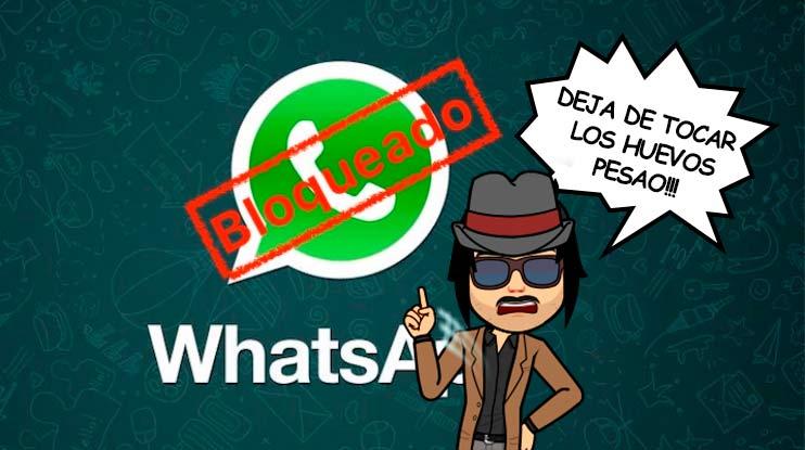 como saber bloquear un contacto de whatsapp
