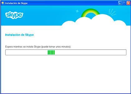 instalacion skype