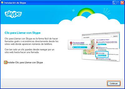 instalar aplicacion skype