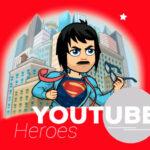 youtube heroes instalar